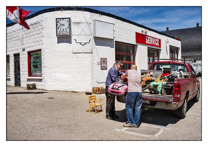 Pink Car—Nobleton, Ontario